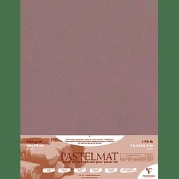 5 Pliegos Contracolados Pastelmat Marrón - 360 gr 50 x 70 cm