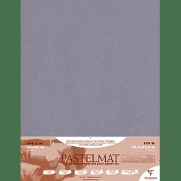 5 Pliegos Contracolados Pastelmat Gris Oscuro - 360 gr 50 x 70 cm