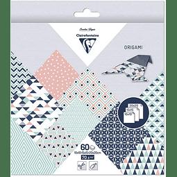 Pack Origami 60 hojas 3 tamaños - Prisma