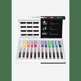 Pigment Decobrush | Basic Colors Collection 12 colors