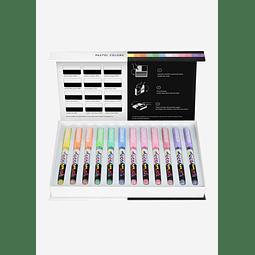 Pigment Decobrush   Pastel Colors Collection 12 colors