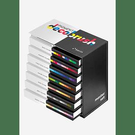 Pigment Decobrush | Master Set 84 colors