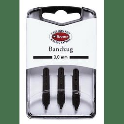 caja con 3 plumillas bandzug 3,0mm