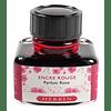 Tinta perfumada 30ml roja fragancia Rozas
