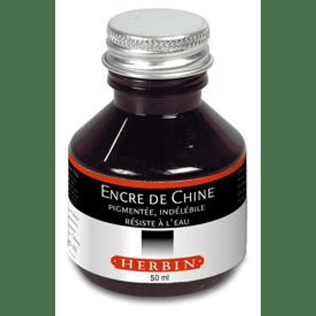 Tinta China 50ml Negra