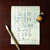 Set de escritura 'Egipcia'