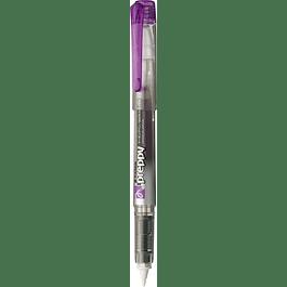 Platinum - Marcador Preppy recargable  - violeta