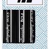 3 marcadores caligráficos