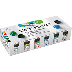 Set Pintura Magic Marble Colores Básicos