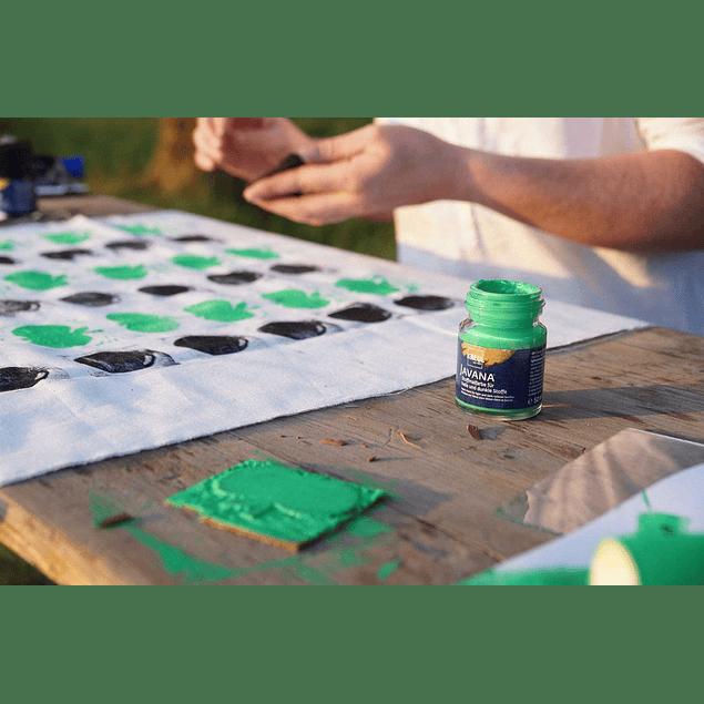 Set Pintura para Telas Efecto Metálico - Colores básicos 6 x 20 ml