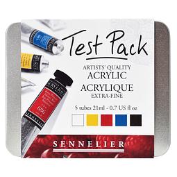 Sennelier Acrílico extra fino Test Pack