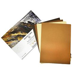 """Sobre Pastel Card """"La Carte Pastel"""" - Tonos Tierra"""