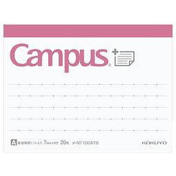 Notas adhesivas - Línea y Puntos (7,8 x 10,3 cm)