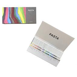 """Marcador gráfico """"PASTA"""" - Set 30 colores"""