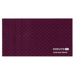 Kokuyo ME - Nota tamaño tarjeta (Colores)