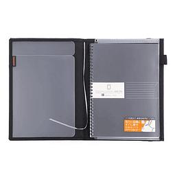 SYSTEMIC 25,2 x 17,9 cm - Porta documento de viaje - Negro