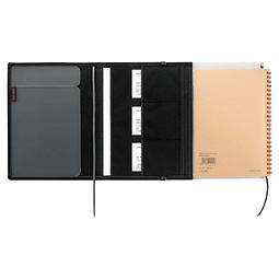 SYSTEMIC 21 x 14,8 cm - Porta documento de viaje - Negro