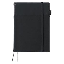 Porta Cuaderno - Cuero sintético - 27,6 x 20,5 cm (2 colores)
