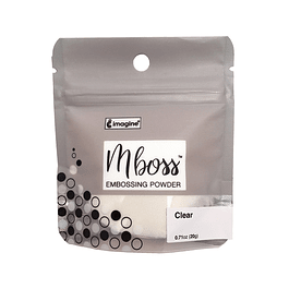 Mboss Embossing Powder CLEAR