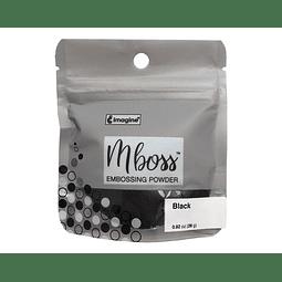 Mboss Embossing Powder NEGRO