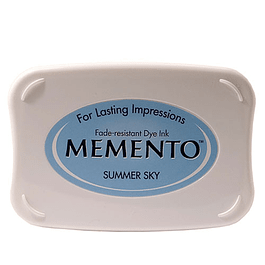 Memento full-size inkpad Summer Sky