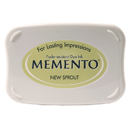 Memento full-size inkpad New Sprout