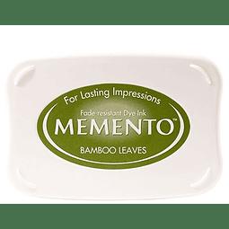 Memento full-size inkpad Bamboo Leaves
