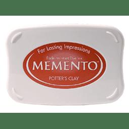 Memento full-size inkpad Potter's Clay
