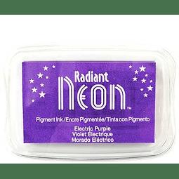 Radiant Neon full-size inkpad - Electric Purple