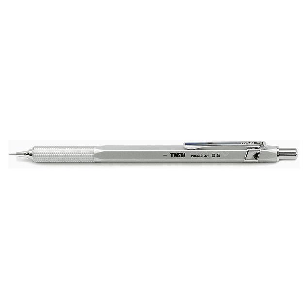 TWSBI Precision Fix Pipe Pencil Matt Silver
