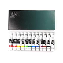 Kit Acrílico Gouache 20ml - 12 Colores