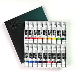 Kit Acrílico Gouache 20ml - 18 Colores