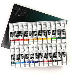 Kit Acrílico Gouache 20ml - 24 Colores