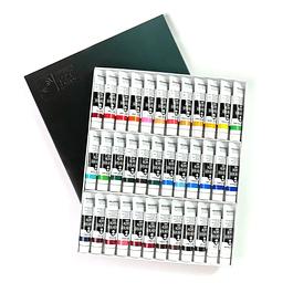 Kit Acrílico Gouache 20ml - 36 Colores