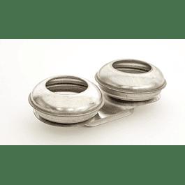 Aceitera de aluminio doble orificio pequeño