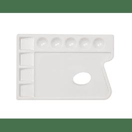 Paleta rectangular de 9 pocillos