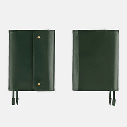 HOBONICHI TECHO A6 PLANNER SET - LEATHER: INTO THE FOREST