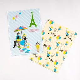 Omiya Yogashiten Hobonichi Folder Set for Tamaño A5