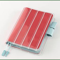 "Cover on Cover ""Stripes"" para tamaño A6"