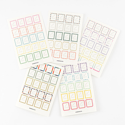 Hobonichi Frame Stickers