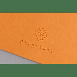 Perpetual 14,8 x 21 cm - Color Mandarina