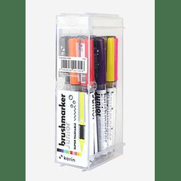 Brushmarker Junior | 11 Colours + Blender