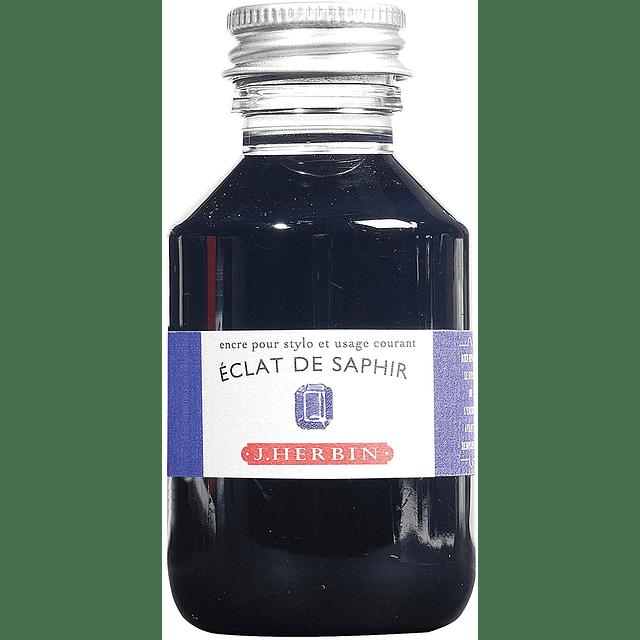 ink to write sapphire 100ml Éclat de Saphir