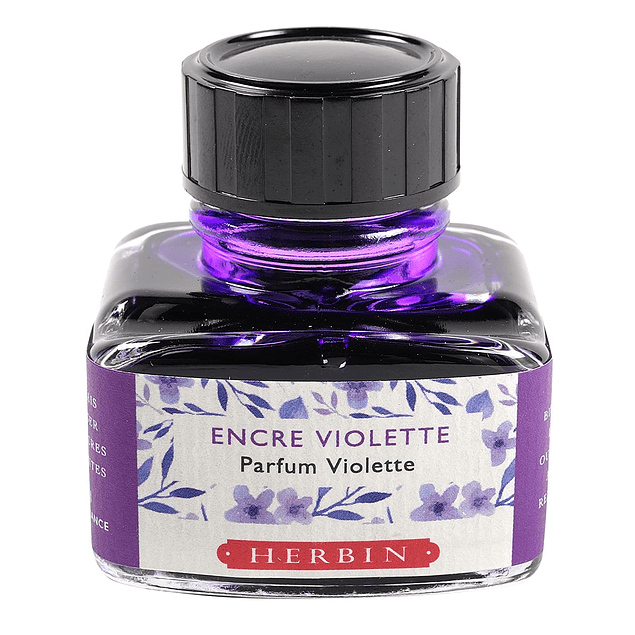 Tinta Perfumada 30ml Violeta Fragancia de Violetas