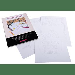 Kit Bloc Handlettering - Herbin