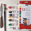 KREUL el Greco Óleos - Set de 12 colores