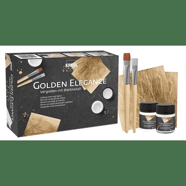 KREUL SET de Inicio al Pan de Oro, Conjunto Golden Elegance