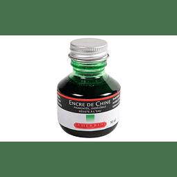 Tinta China 50ml verde