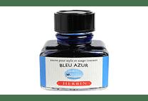 D ink bottle 30ml azure blue