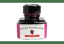 D ink bottle 30ml rouge bourgogne